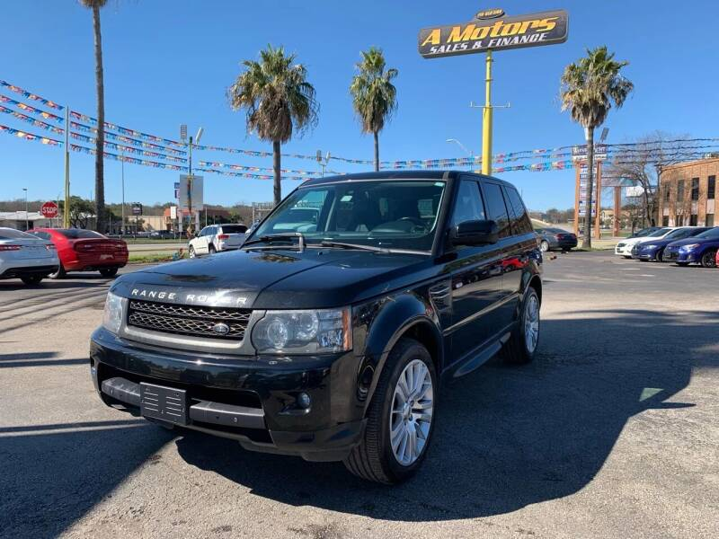 2010 Land Rover Range Rover Sport for sale at A MOTORS SALES AND FINANCE in San Antonio TX