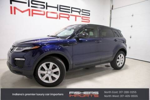 2017 Land Rover Range Rover Evoque for sale at Fishers Imports in Fishers IN