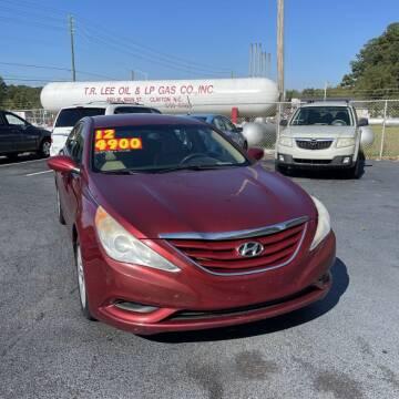 2012 Hyundai Sonata for sale at Auto Bella Inc. in Clayton NC