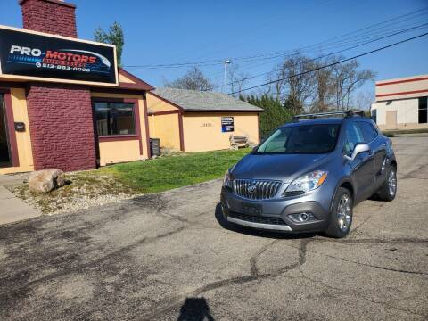 2013 Buick Encore for sale at Pro Motors in Fairfield OH