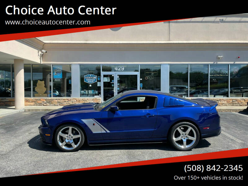 2014 Ford Mustang for sale at Choice Auto Center in Shrewsbury MA