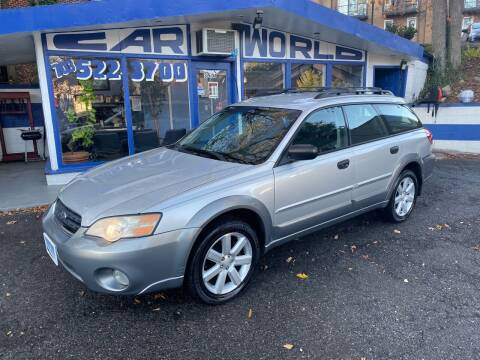 2006 Subaru Outback for sale at Car World Inc in Arlington VA