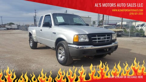2003 Ford Ranger for sale at Al's Motors Auto Sales LLC in San Antonio TX