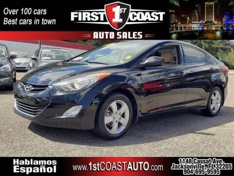 2013 Hyundai Elantra for sale at 1st Coast Auto -Cassat Avenue in Jacksonville FL