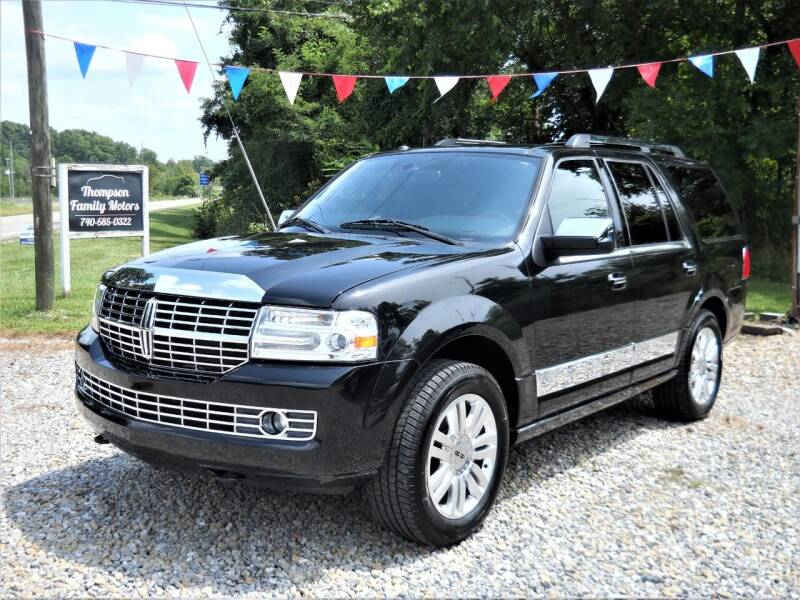 2012 Lincoln Navigator for sale at THOMPSON FAMILY MOTORS in Senecaville OH