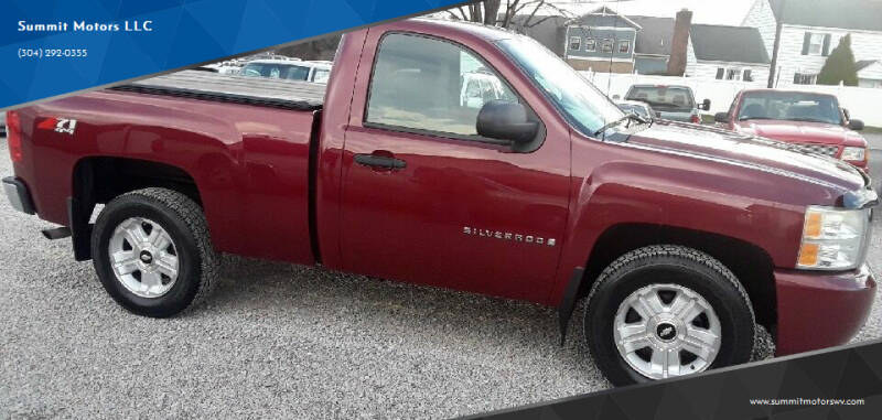 2007 Chevrolet Silverado 1500 for sale at Summit Motors LLC in Morgantown WV
