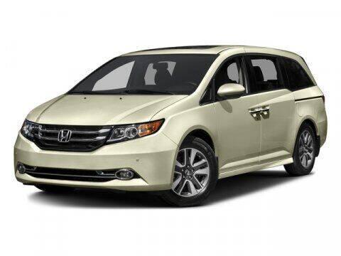 2016 Honda Odyssey for sale at Suburban Chevrolet in Claremore OK