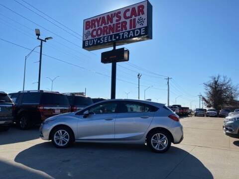 2018 Chevrolet Cruze for sale at Bryans Car Corner in Chickasha OK