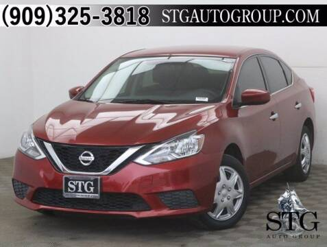 2016 Nissan Sentra for sale at STG Auto Group in Montclair CA