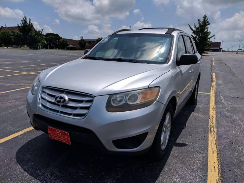 2012 Hyundai Santa Fe for sale at AA Auto Sales LLC in Columbia MO