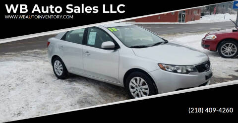 2013 Kia Forte for sale at WB Auto Sales LLC in Barnum MN