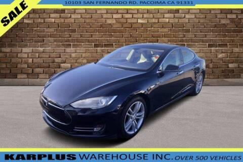 2013 Tesla Model S for sale at Karplus Warehouse in Pacoima CA