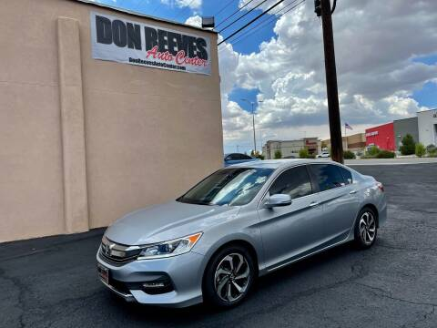 2017 Honda Accord for sale at Don Reeves Auto Center in Farmington NM