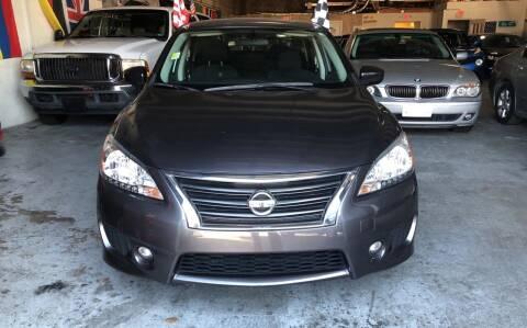 2013 Nissan Sentra for sale at Auto Credit & Finance Corp. in Miami FL