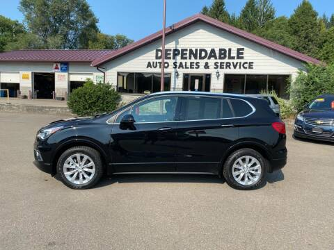 2018 Buick Envision for sale at Dependable Auto Sales and Service in Binghamton NY