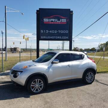 2014 Nissan JUKE for sale at SIRIUS MOTORS INC in Monroe OH