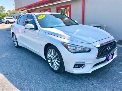 2018 Infiniti Q50 for sale at Richardson Sales & Service in Highland IN