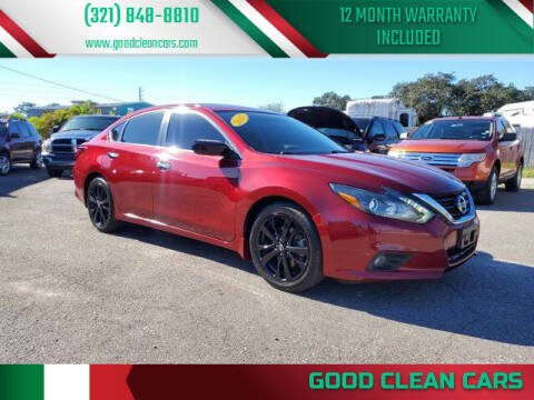 2017 Nissan Altima for sale at Good Clean Cars in Melbourne FL