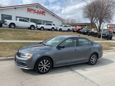 2016 Volkswagen Jetta for sale at Efkamp Auto Sales LLC in Des Moines IA