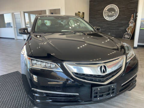 2015 Acura TLX for sale at Evolution Autos in Whiteland IN
