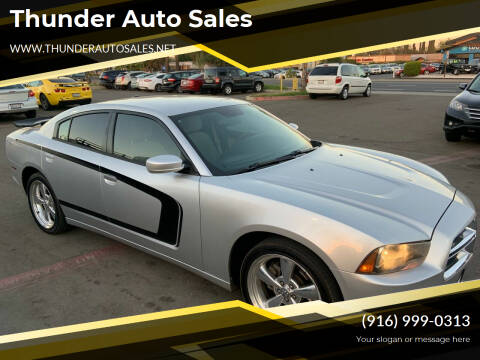 2011 Dodge Charger for sale at Thunder Auto Sales in Sacramento CA