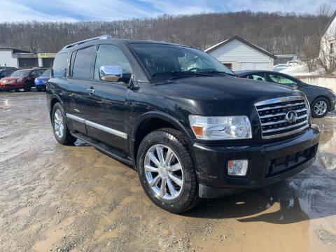 2008 Infiniti QX56 for sale at Ron Motor Inc. in Wantage NJ