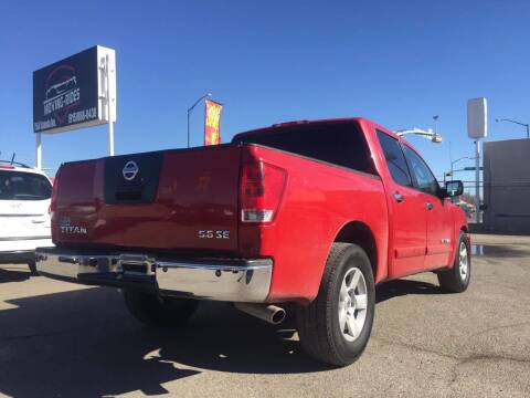 2007 Nissan Titan for sale at Moving Rides in El Paso TX