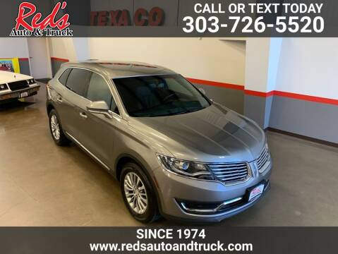 2017 Lincoln MKX for sale at Red's Auto and Truck in Longmont CO