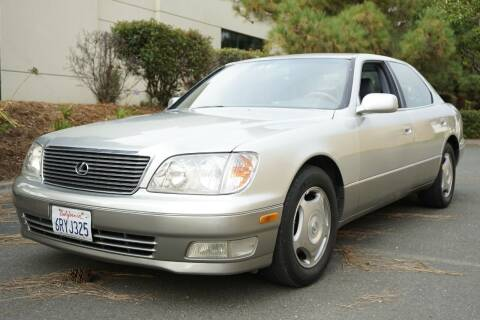 2000 Lexus LS 400 for sale at Sports Plus Motor Group LLC in Sunnyvale CA