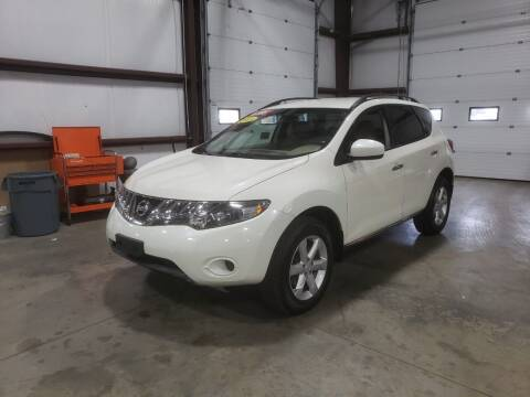 2009 Nissan Murano for sale at Hometown Automotive Service & Sales in Holliston MA