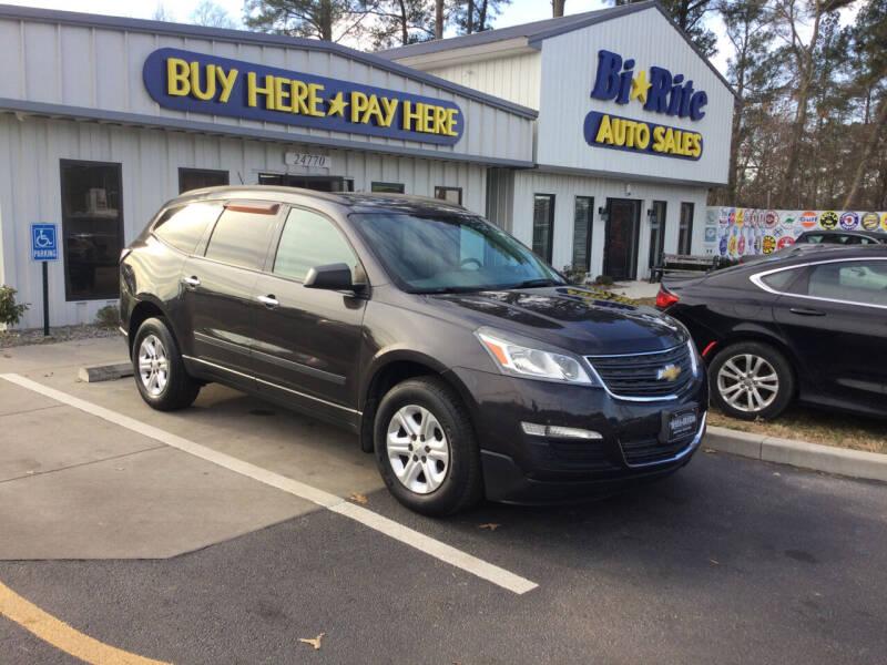 2013 Chevrolet Traverse for sale at Bi Rite Auto Sales in Seaford DE