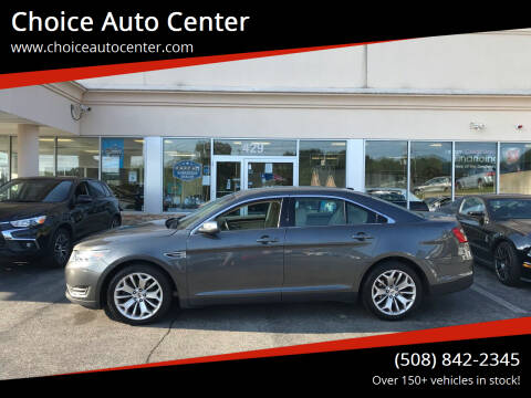 2017 Ford Taurus for sale at Choice Auto Center in Shrewsbury MA