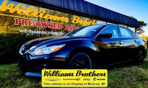 2017 Nissan Altima for sale at Williams Brothers - Pre-Owned Monroe in Monroe MI