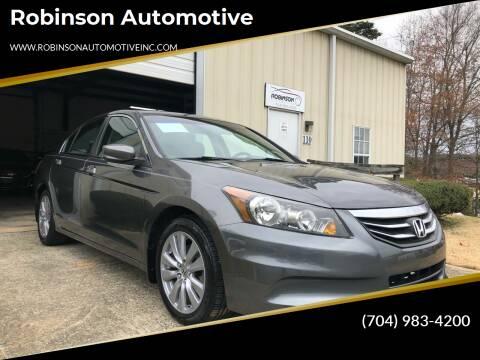 2011 Honda Accord for sale at Robinson Automotive in Albemarle NC