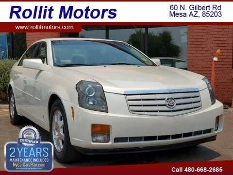 2007 Cadillac CTS for sale at Rollit Motors in Mesa AZ