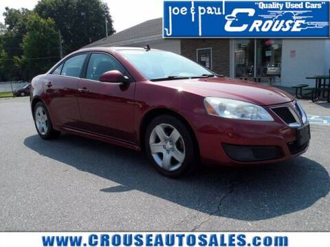 2010 Pontiac G6 for sale at Joe and Paul Crouse Inc. in Columbia PA