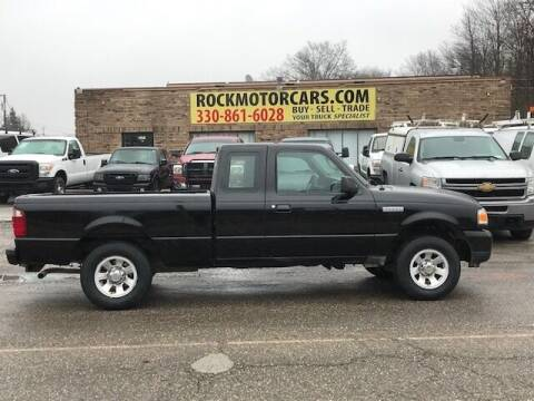 2011 Ford Ranger for sale at ROCK MOTORCARS LLC in Boston Heights OH