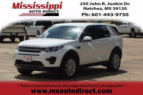 2016 Land Rover Discovery Sport for sale at Auto Group South - Mississippi Auto Direct in Natchez MS