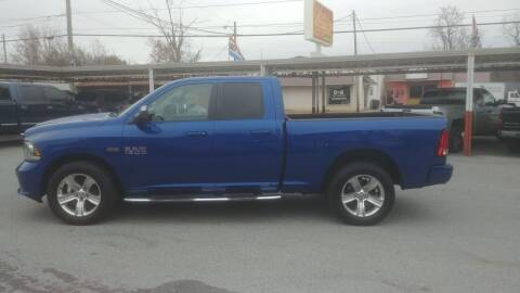 2014 RAM Ram Pickup 1500 for sale at Lewis Used Cars in Elizabethton TN