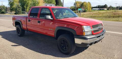 2003 Chevrolet Silverado 1500HD for sale at Thorp Auto World in Thorp WI