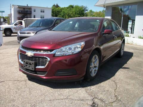 2015 Chevrolet Malibu for sale at Knight Automotive in Southbridge MA