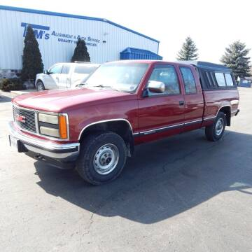 1990 GMC Sierra 1500 for sale at TIM'S ALIGNMENT & AUTO SVC in Fond Du Lac WI