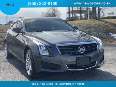 2013 Cadillac ATS for sale at New Circle Auto Sales LLC in Lexington KY