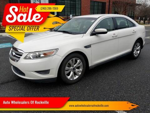 2011 Ford Taurus for sale at Auto Wholesalers Of Rockville in Rockville MD