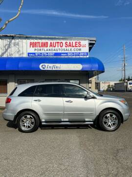 2009 Acura MDX for sale at PORTLAND AUTO SALES LLC. in Portland OR