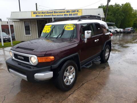 2007 Toyota FJ Cruiser for sale at Taylor Trading Co in Beaumont TX