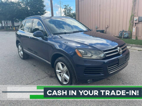 2013 Volkswagen Touareg for sale at Horizon Auto Sales in Raleigh NC