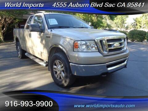2008 Ford F-150 for sale at World Imports in Sacramento CA