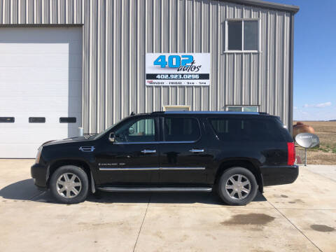 2009 Cadillac Escalade for sale at 402 Autos in Lindsay NE