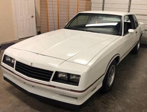 1985 Chevrolet Monte Carlo for sale at Muscle Car Jr. in Alpharetta GA